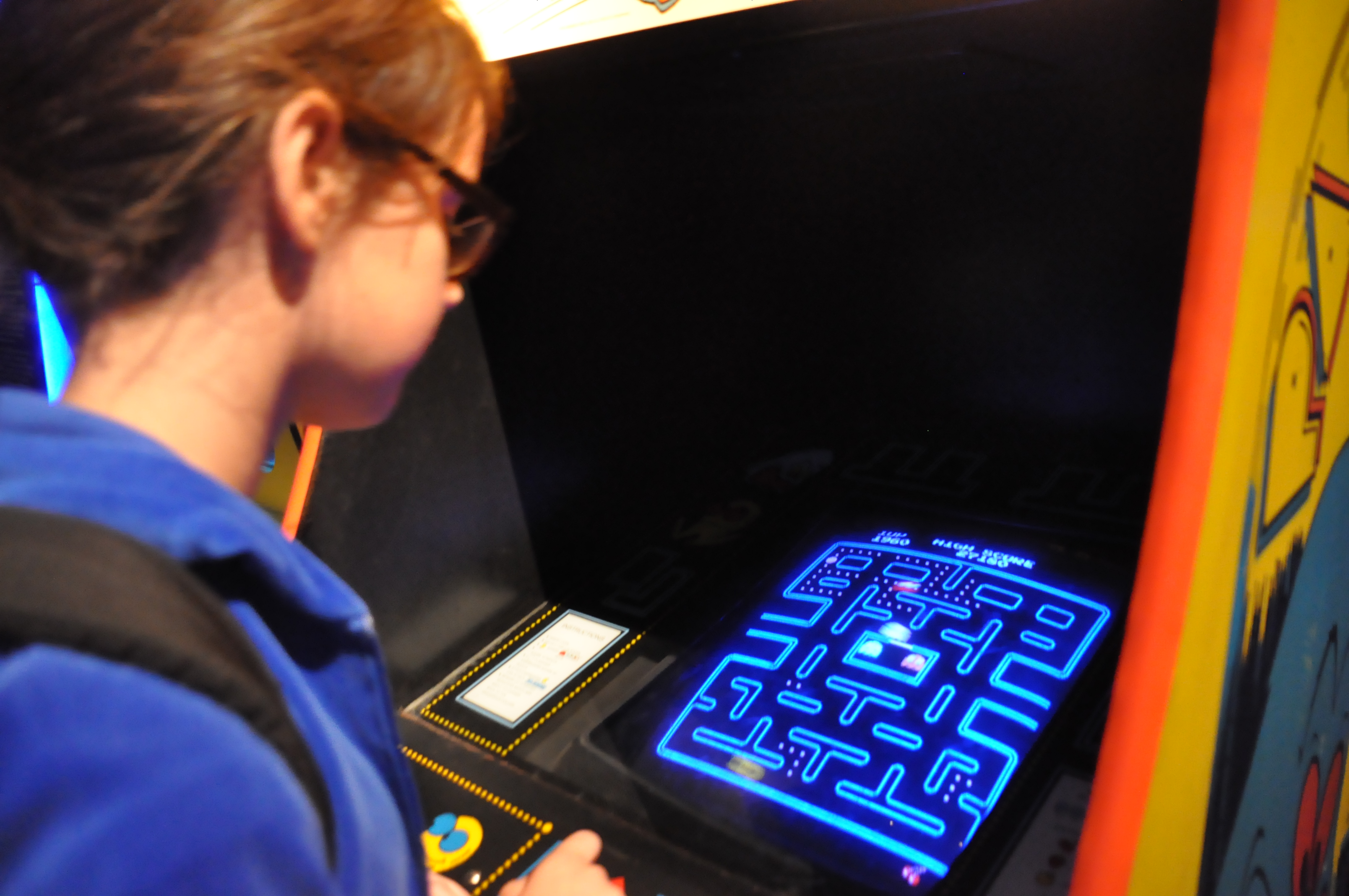 Did you know Pac-Man was almost called Puck-Man but there were worried about vandals changing the P to an F?