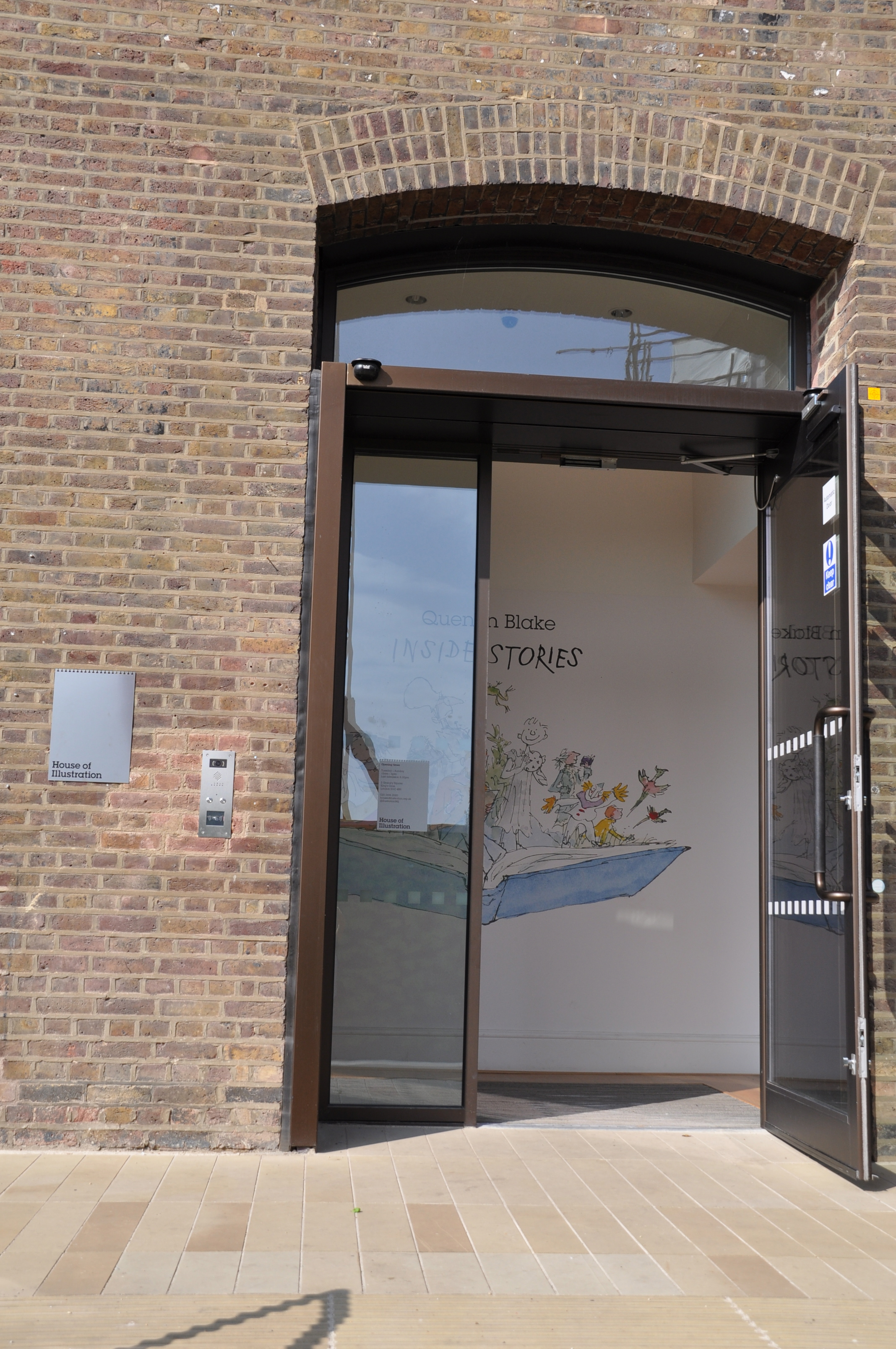 Entrance to the House of Illustration