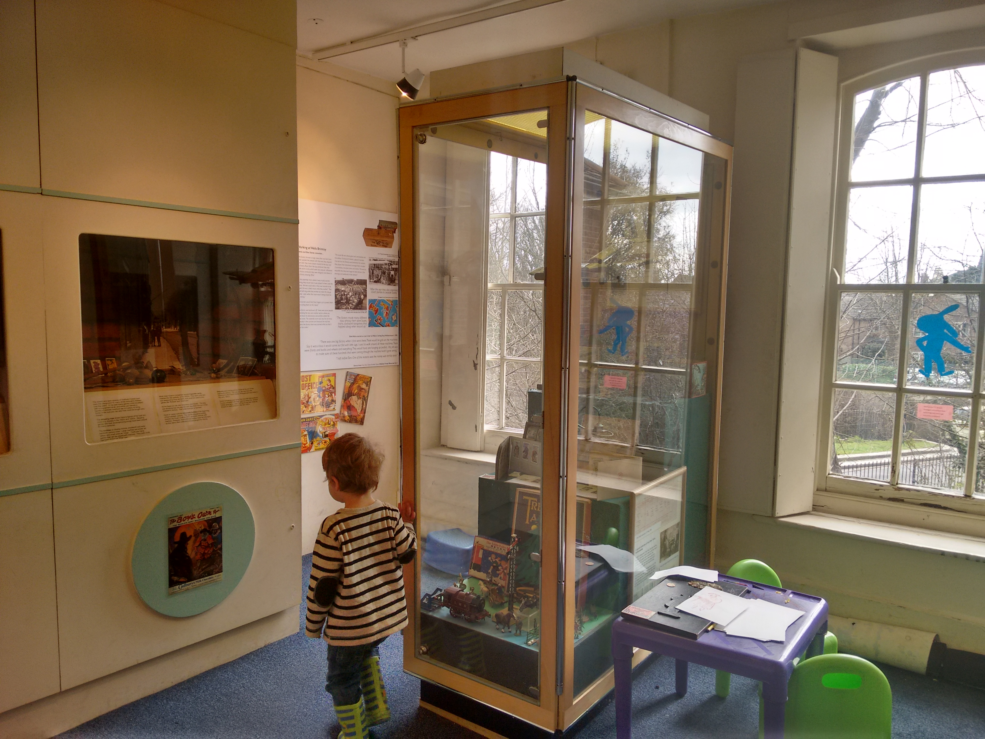 Vestry House Museum toy display