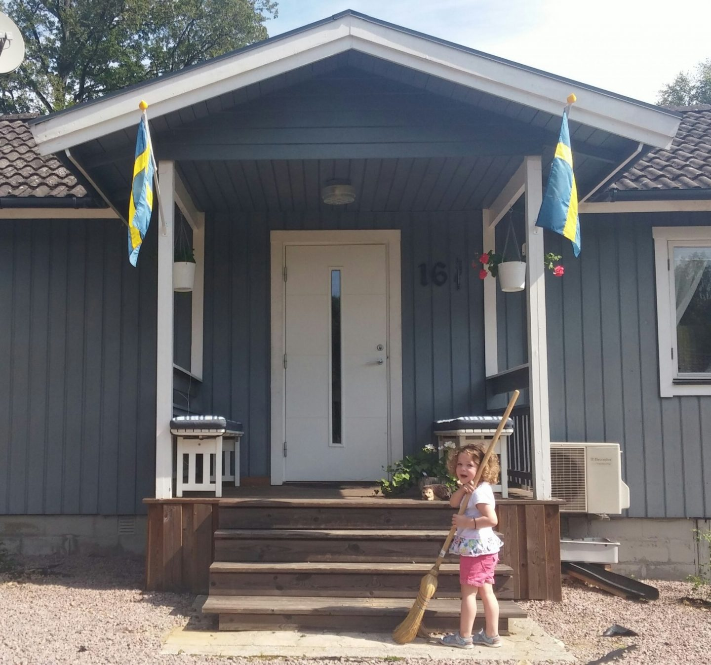 House swap to summer house in Skane, Sweden Summer 2017