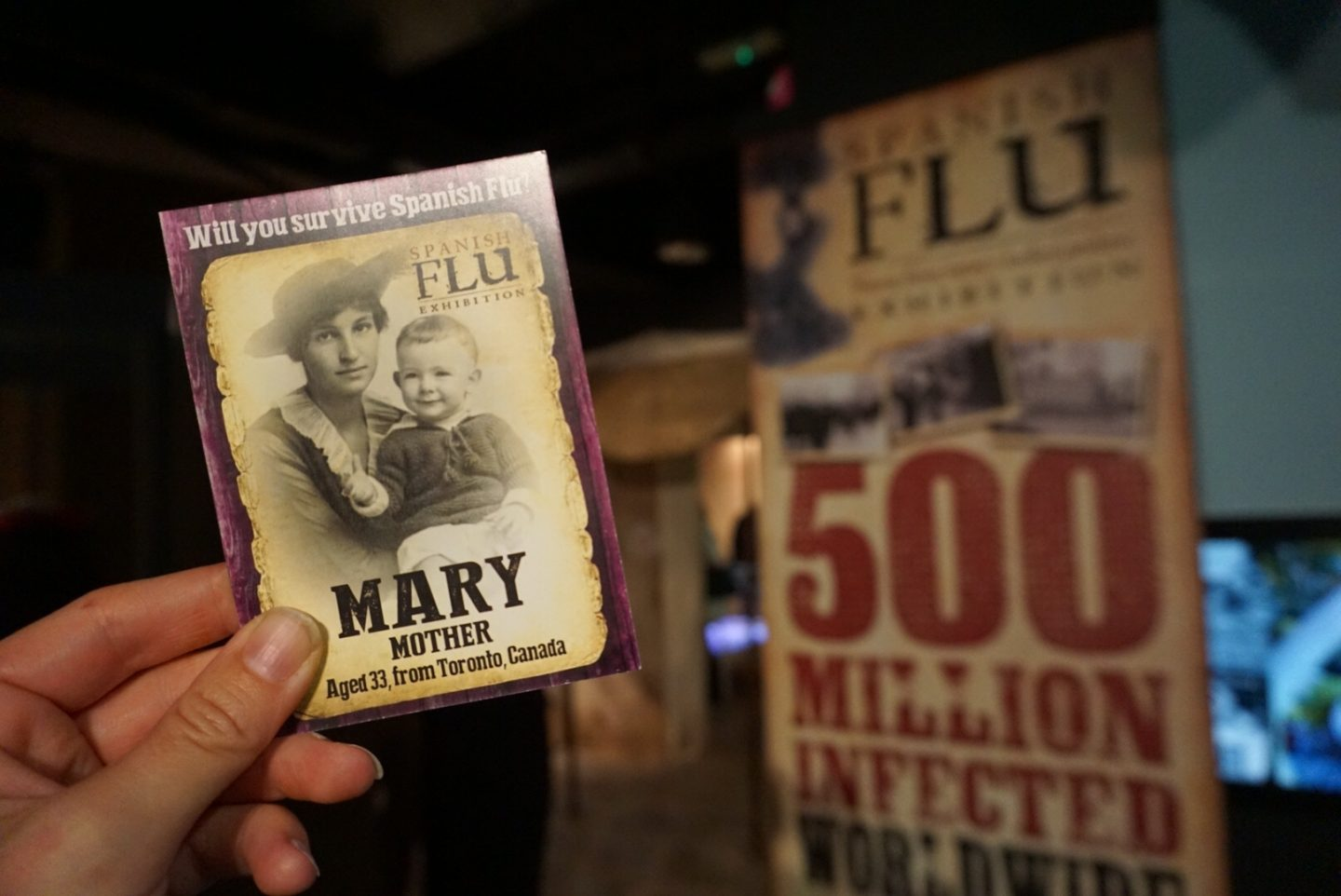 Spanish Flu at the Florence Nightingale Museum