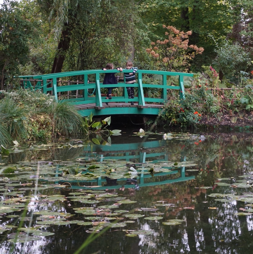 Giverny: Monet's Garden with kids
