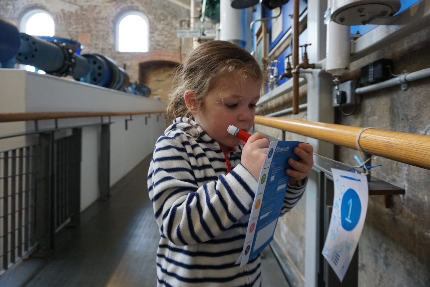 Museum of Water and Steam with kids