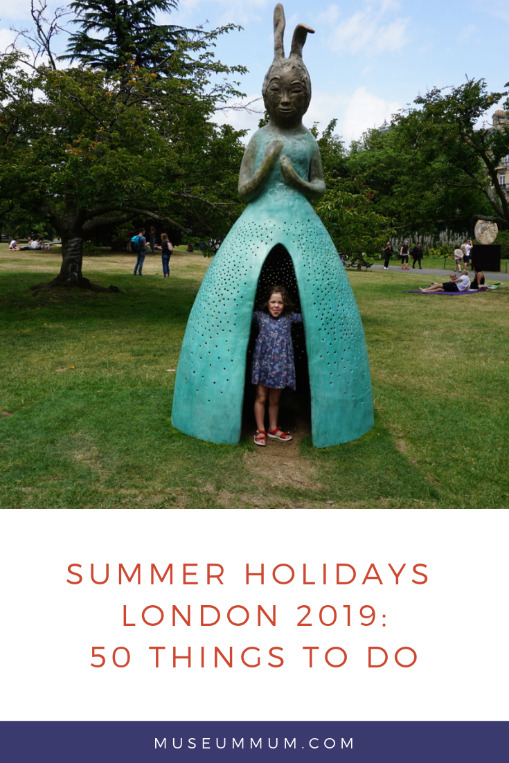 Summer holidays 2019: 50 things to do in London with the