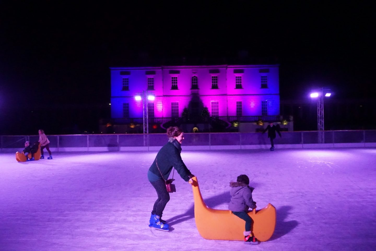 Queen's House Ice Rink in Greenwich