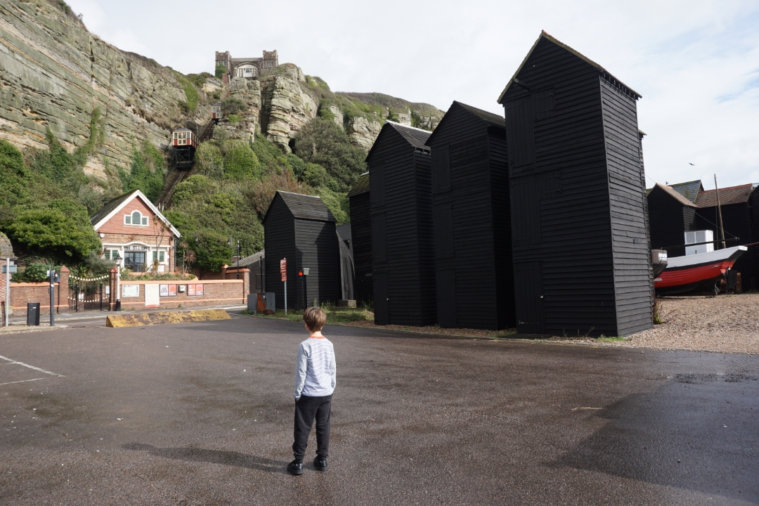 A weekend break to Hastings with kids